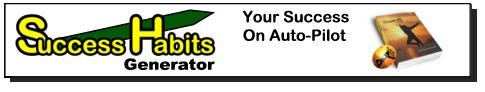 Success Habits Generator Free Video Tutorial on Anchoring