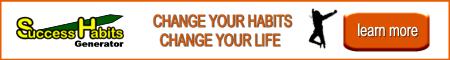 Success Habits Generator website