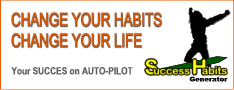 Success Habits Generator Website